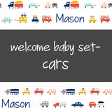 Welcome Baby Set - Cars