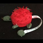 Paradise Crocheted Hedgehog Tape Measure (TM10107)