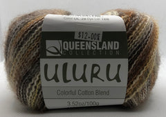 Queensland Uluru Colorful Cotton Blend, Saturn Swirl #26