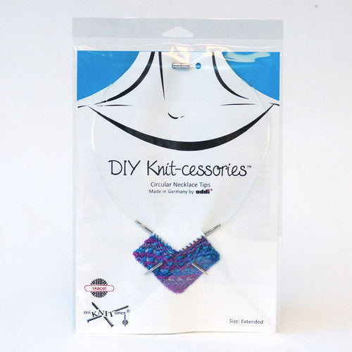 Skacel DIY Knit-cessories Turbo Necklace Tips Size: Extended