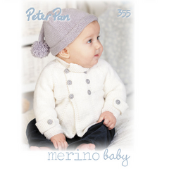 Peter Pan Merino Baby Pattern Book, 355