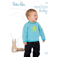 Peter Pan Merino Baby Pattern Book, 360