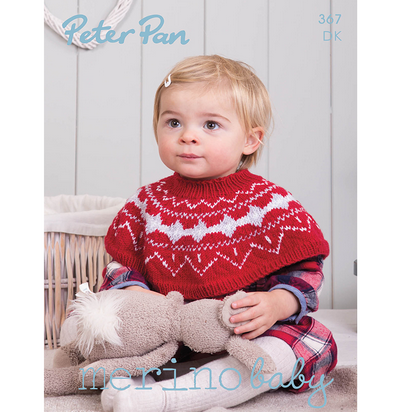 Peter Pan Merino Baby Pattern Book, 367