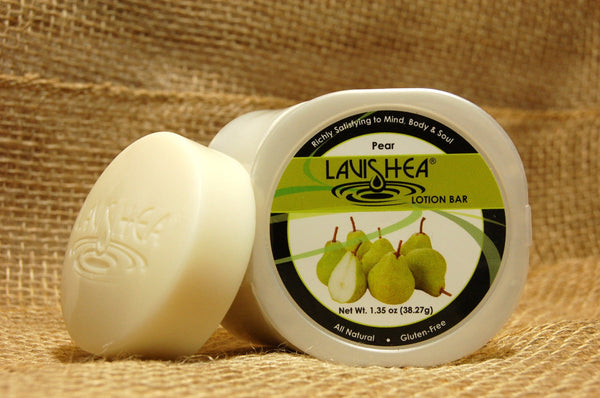 Lavishea Lotion Bar, 1.25 oz, Pear