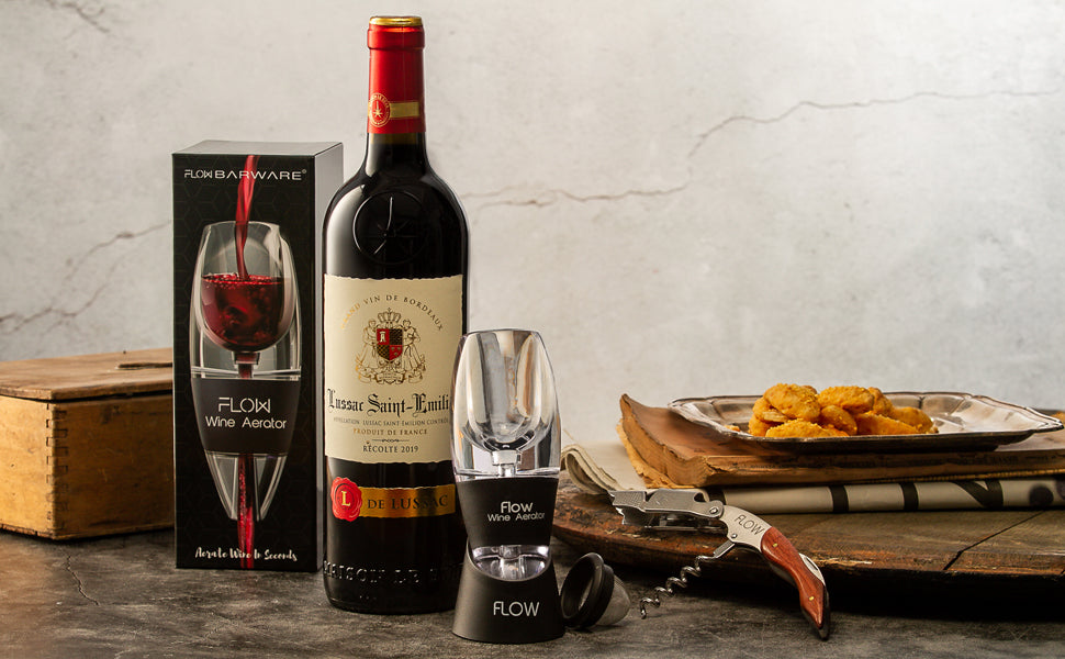 FLOW Wine aerator with Base