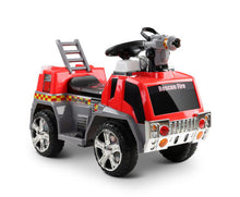 Load image into Gallery viewer, KIDS RIDE ON FIRE ENGINE