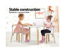 Load image into Gallery viewer, KEEZI KIDS ACTIVITY TABLE AND CHAIRS SET