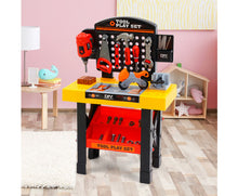 Load image into Gallery viewer, KEEZI KIDS 54PCE WORKBENCH PLAY SET