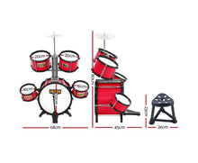 Load image into Gallery viewer, KEEZI KIDS JUNIOR DRUM PLAY SET