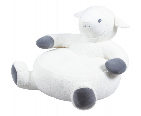 LAMB PLUSH SNUGGLE CHAIR