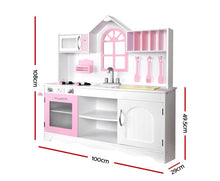 Load image into Gallery viewer, KEEZI KIDS WOODEN KITCHEN PLAY SET
