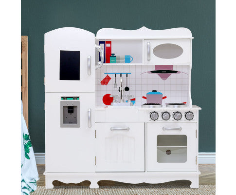 KEEZI KIDS WOODEN KITCHEN PLAY SET