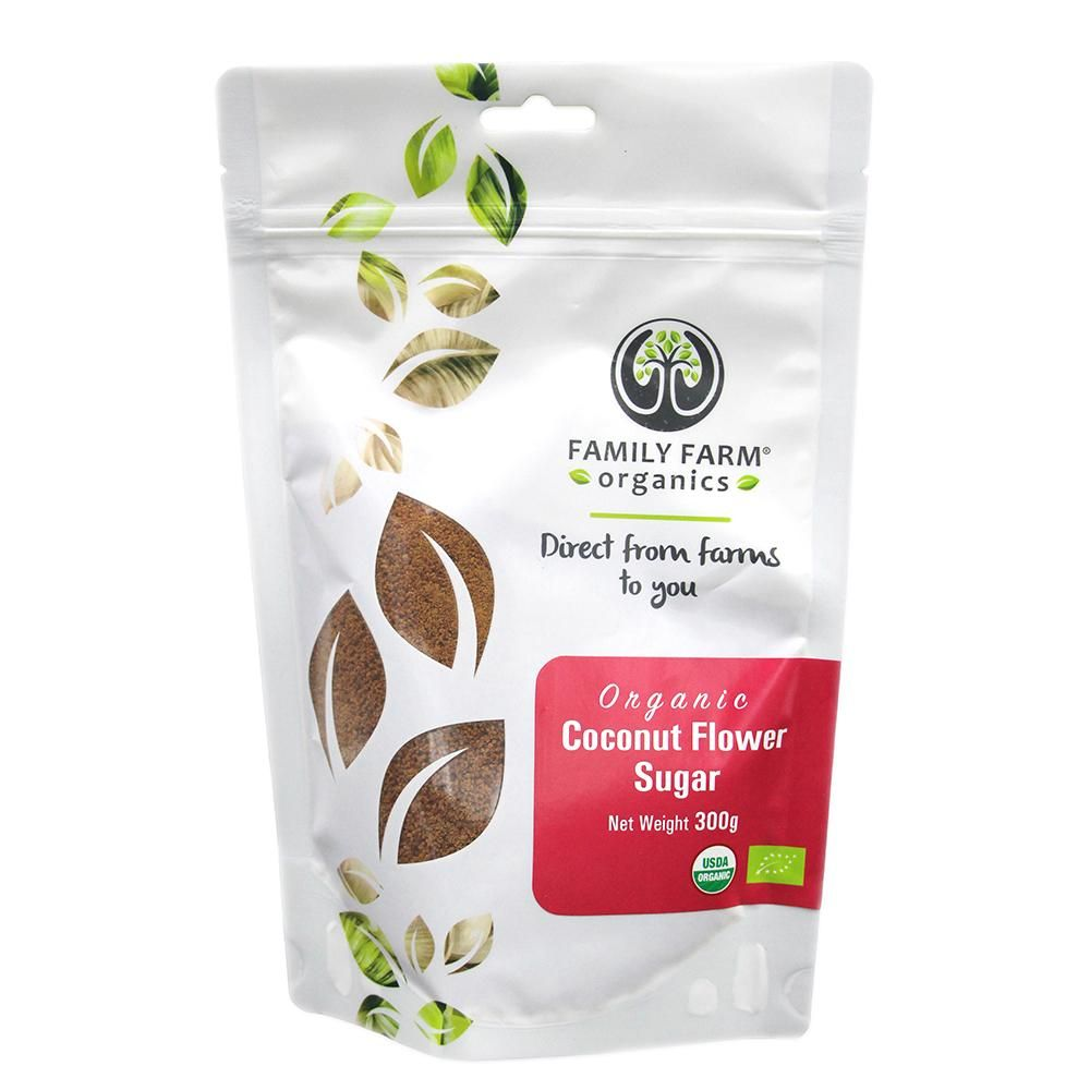 Organic Coconut Flower Sugar (300g)