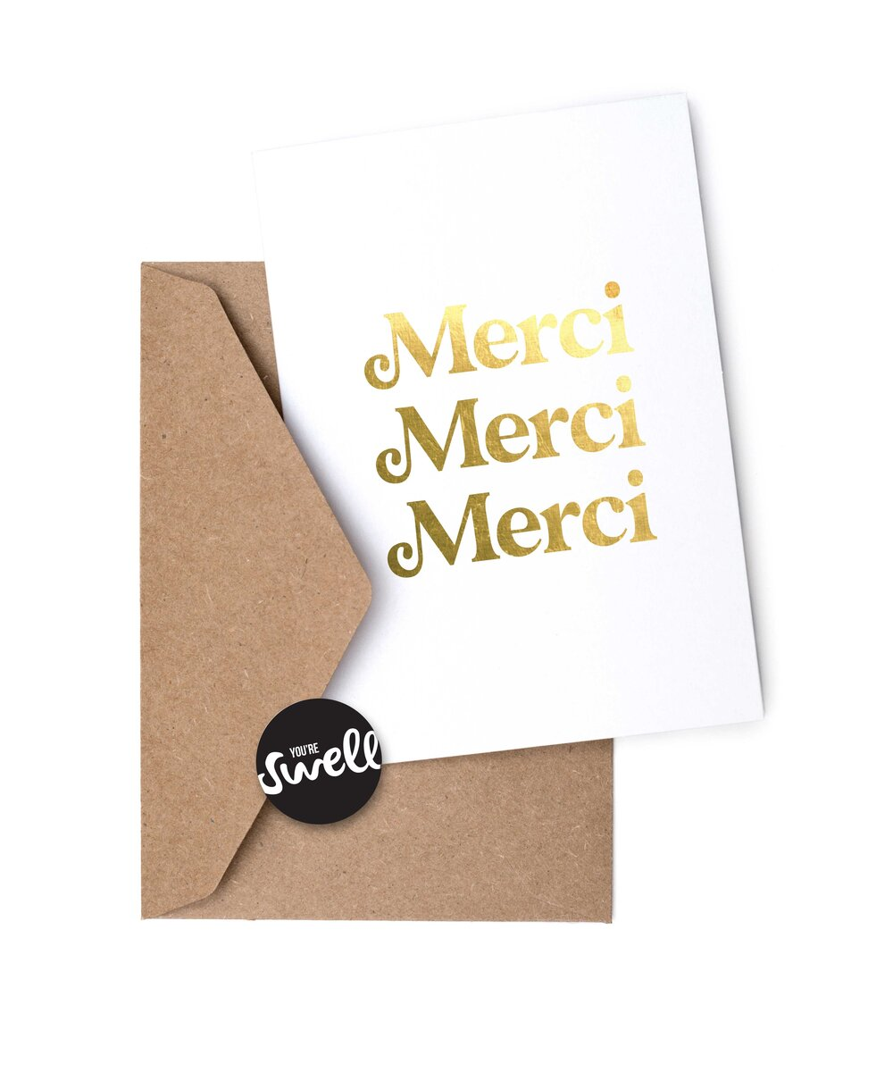 MERCI GRATITUDE CARDS