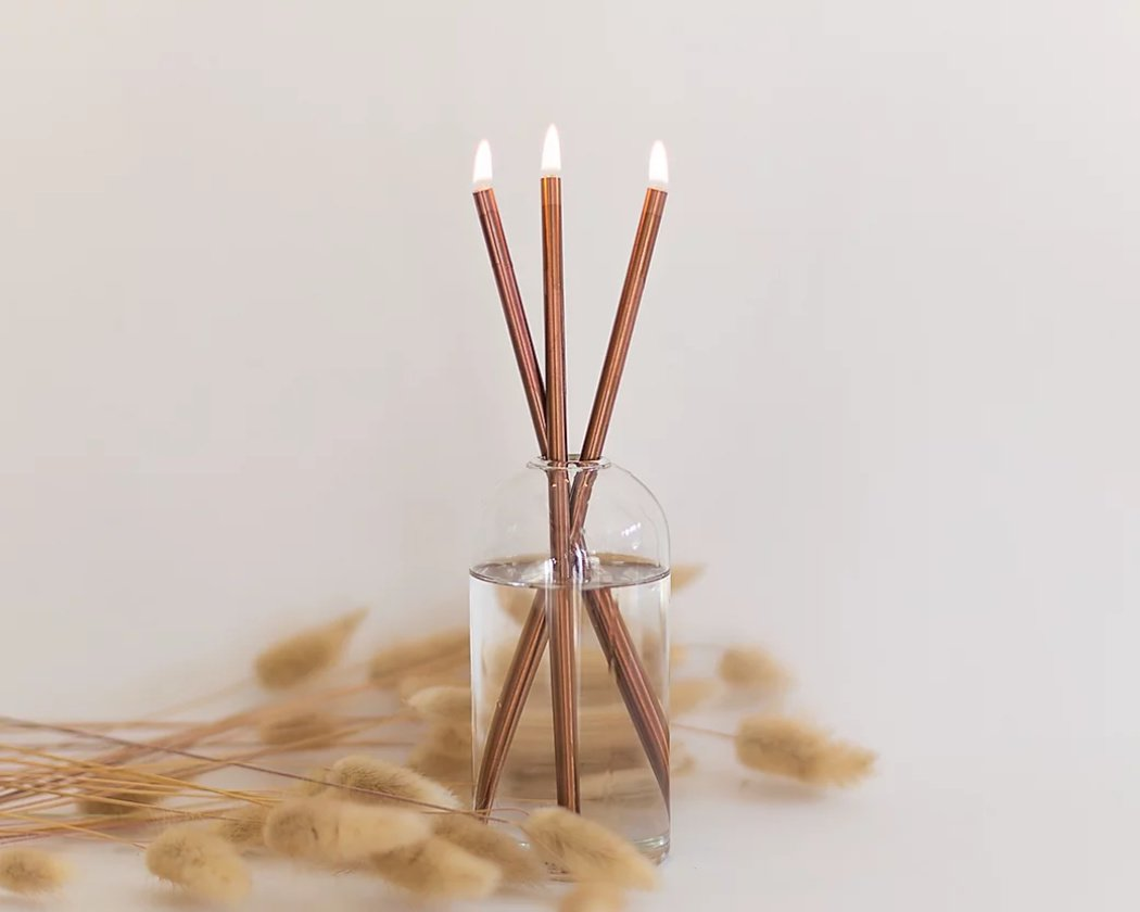 EVERLASTING CANDLE COPPER SET