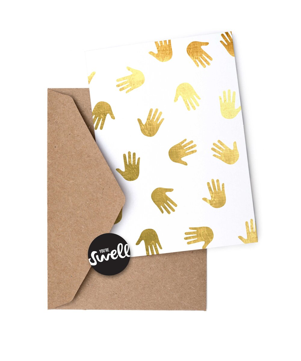 HIGH FIVE PATTERN CARD