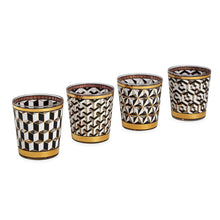 Load image into Gallery viewer, JONATHAN ADLER VERSAILLES GLASSWARE SET
