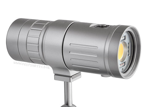 Scubalamp P53 Video-Strobe Light Silver