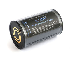 Weefine Spare Battery for Solar Flare 3800/5000