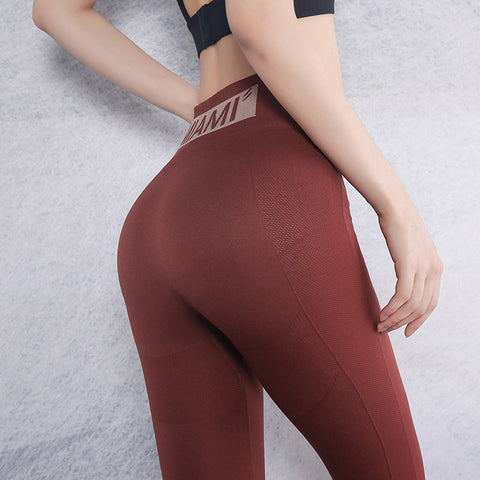 Women Tummy Control Gym Legging Athletic