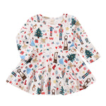 Chloe Christmas Dress for Kids and Babies