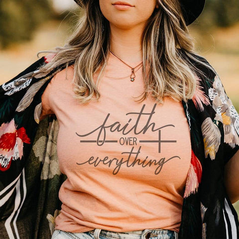 Faith Over Everything Graphic T-Shirt