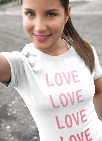 Love Love Love Women T-shirt
