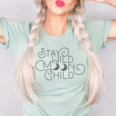 Stay Wild Moon Child Graphic T-Shirt