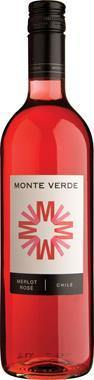 Monte Verde Merlot Rosé, Central Valley,Chile, 12% 750 ml - Hoxton Cabin
