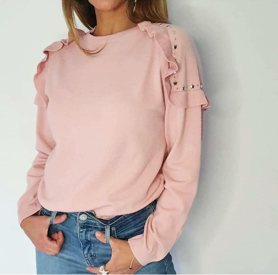 Sweater Sofia Rosado