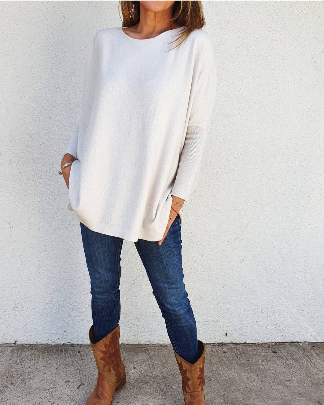 Sweater Alma Crudo