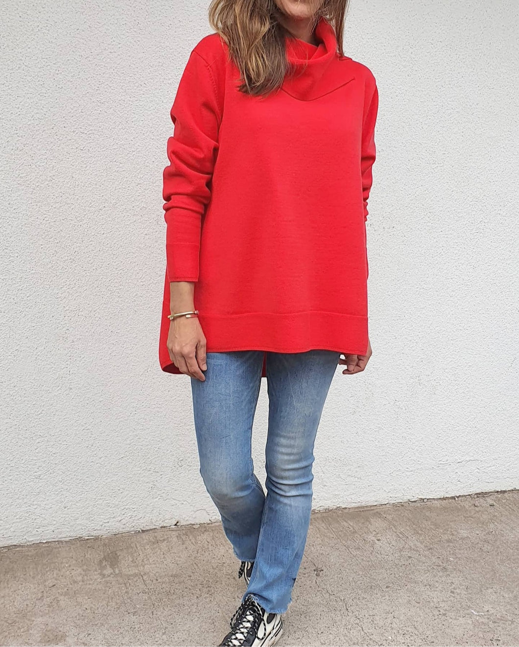 Sweater Manuela Rojo