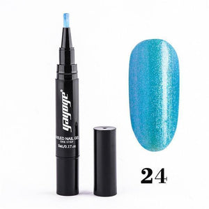 Nail Polish Gel Pen (2 pcs)