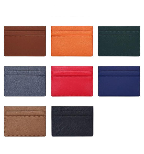 Lether Credit Card Case All Colors