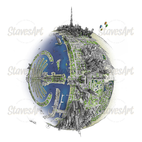 The Dubai Globe (2020)