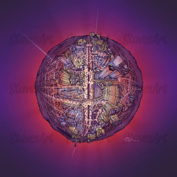The Las Vegas Globe - Night (2020)