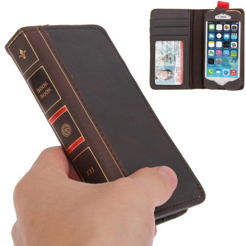 BookBook Stylish Leather Case for iPhone 5 & 5S