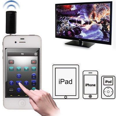 Remote Control Adaptor for iPhone/ iPad/ iPod Touch