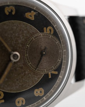 Omega Souverän two tone 1943 - Goldammer Vintage Watches