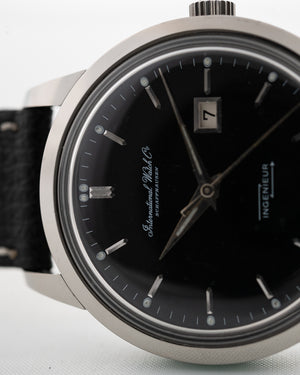 Iwc Ingenieur 666ad black 1962 - Goldammer Vintage Watches