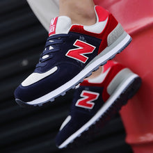 Load image into Gallery viewer, 2021 new aunt N-shaped cool running sports men's shoes retro NB 574 running shoes lightweight student casual shoes women's shoes