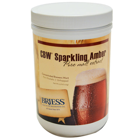 Briess CBW Sparkling Amber 3.3 lb HB Canister