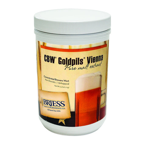 Briess CBW Goldpils Vienna 3.3 lb HB Canister
