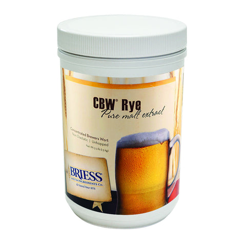 Briess CBW Rye 3.3 lb HB Canister