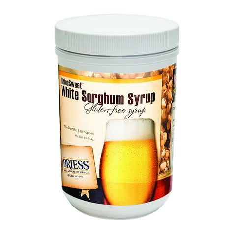 Briess CBW White Sorghum 3.3 lb HB Canister