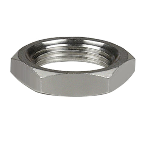 Stainless Steel Lock Nut Groved 1/4'' NPT