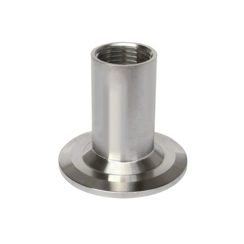 "Stainless Steel Triclamp Ferrule X Female NPT 1.5"" X 1 / 2"""