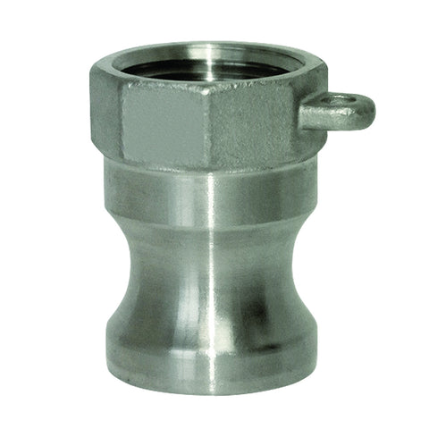 "SS Camlock Male x 1/2"" Female NPT"