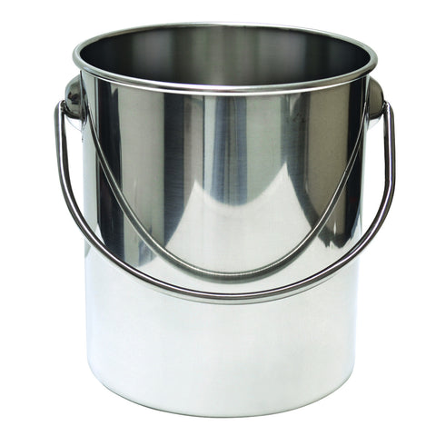 Stainless Steel 8 Litre Pail