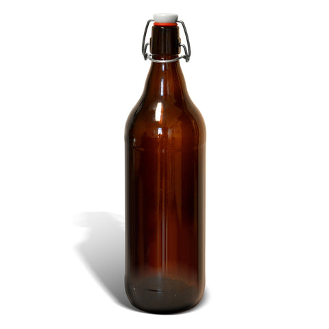 Beer Bottle 1000 ml W/Swing Top (12/Case)